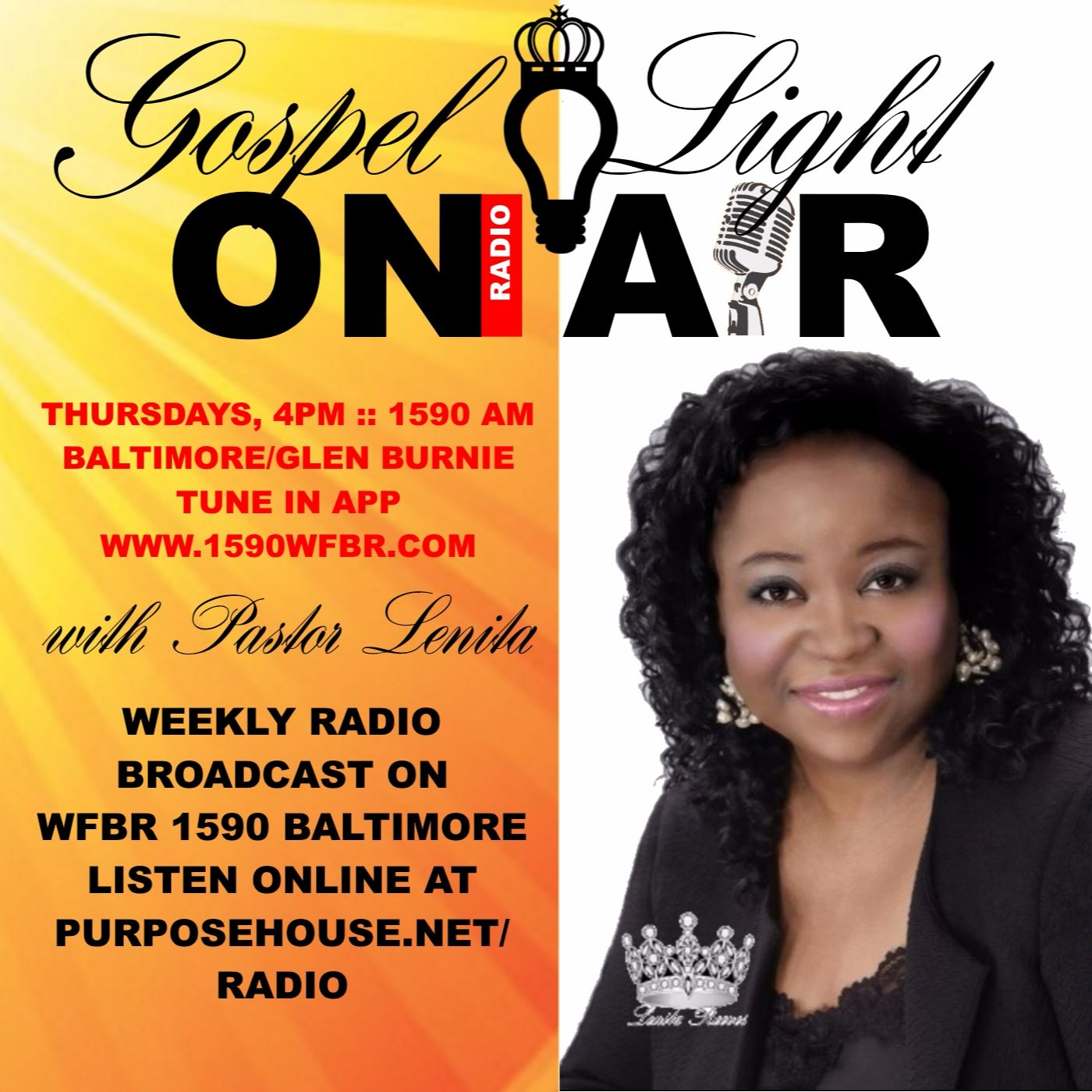 Gospel Light Radio with Pastor Lenita